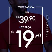 Dupla Fashion - Polo Cumarú 2ª por 19,90