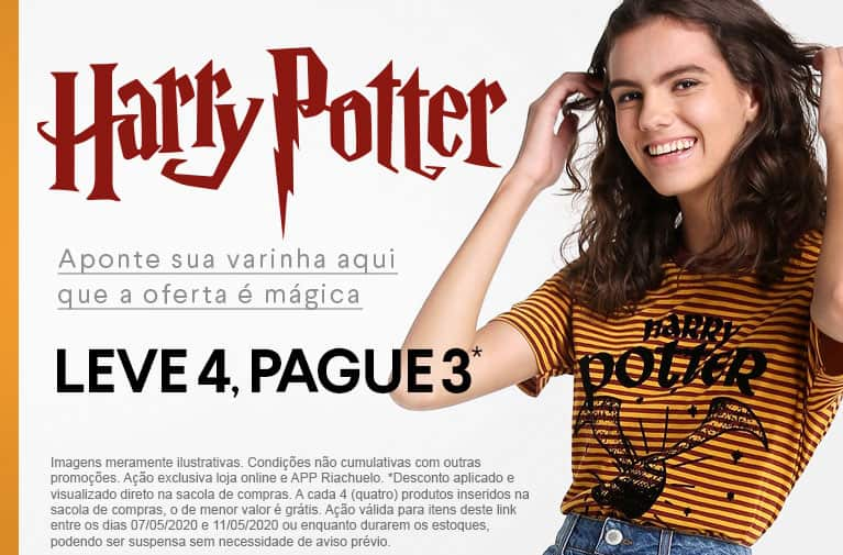 Riachuelo - Harry Potter - Versão mobile
