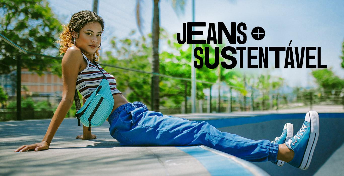 jeans mais sustentável