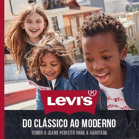 Levi's do Clássico ao Moderno Infantil