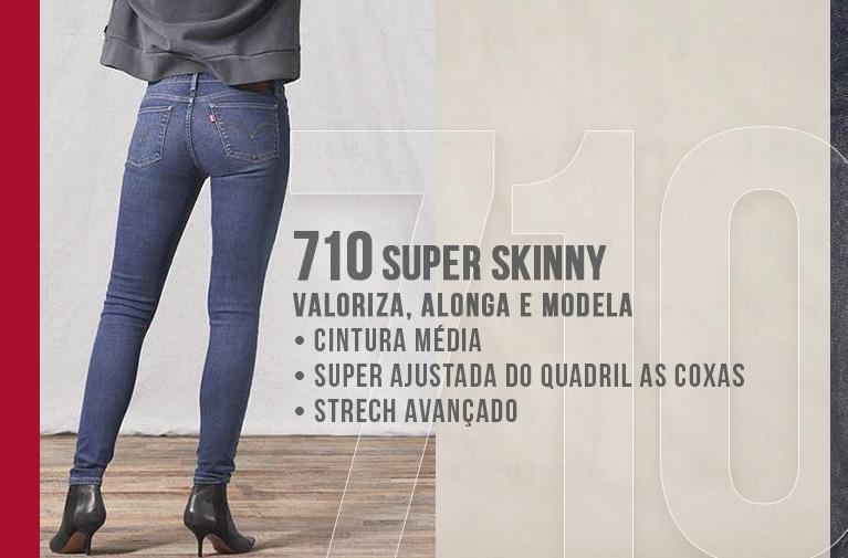 710 Super Skinny Levis - Versão Mobile