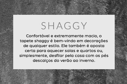 tapetes shaggy trazendo conforto e maciez para qualquer estilo