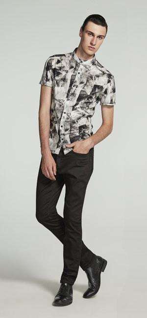 Um update para o guarda-roupas do homem moderno, com linhas minimalistas e slim, além de toque tecnológico.