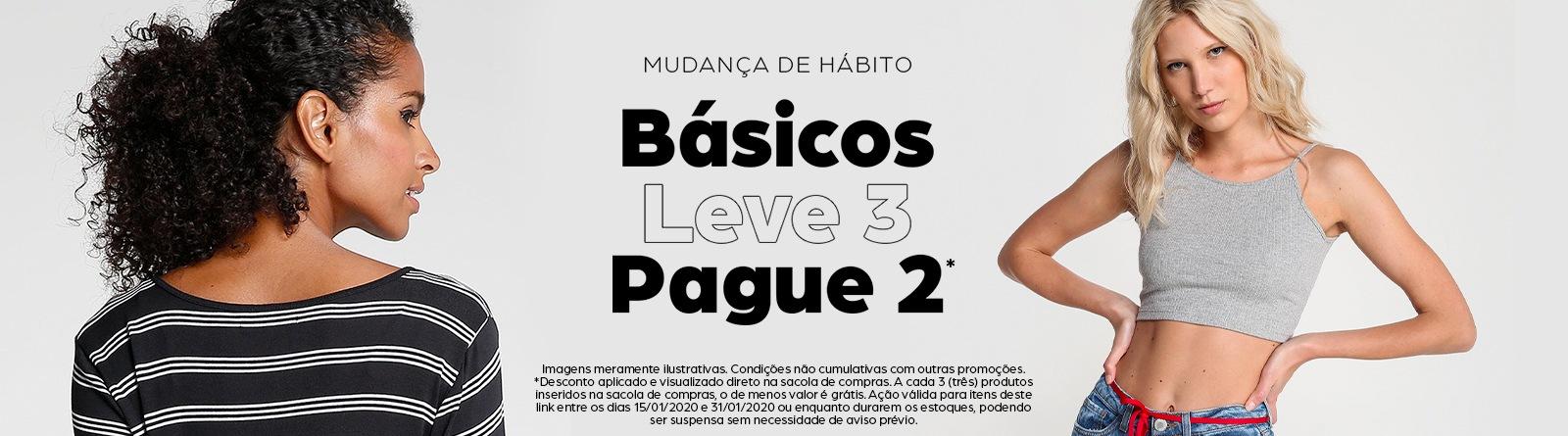 Riachuelo - L3P2 BÁSICOS FEMININO