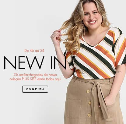New In plus size - versão mobile