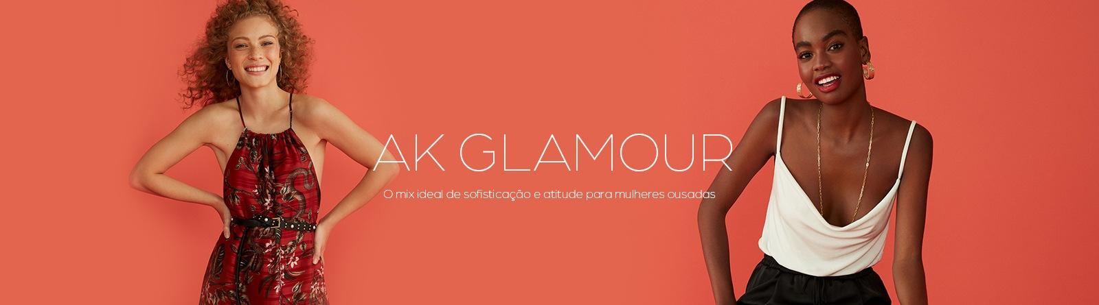AK GLAMOUR - O mix ideal de sofisticação e atitude para mulheres ousadas