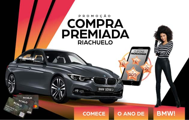 """PROMOÇÃO """"COMPRA PREMIADA CARTÃO RIACHUELO"""""""