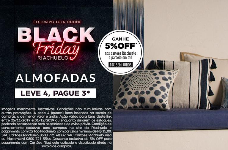 Riachuelo - Black Friday Almofadas