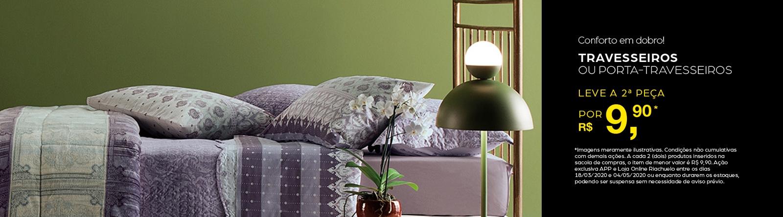 Riachuelo - Moda Casa travesseiros